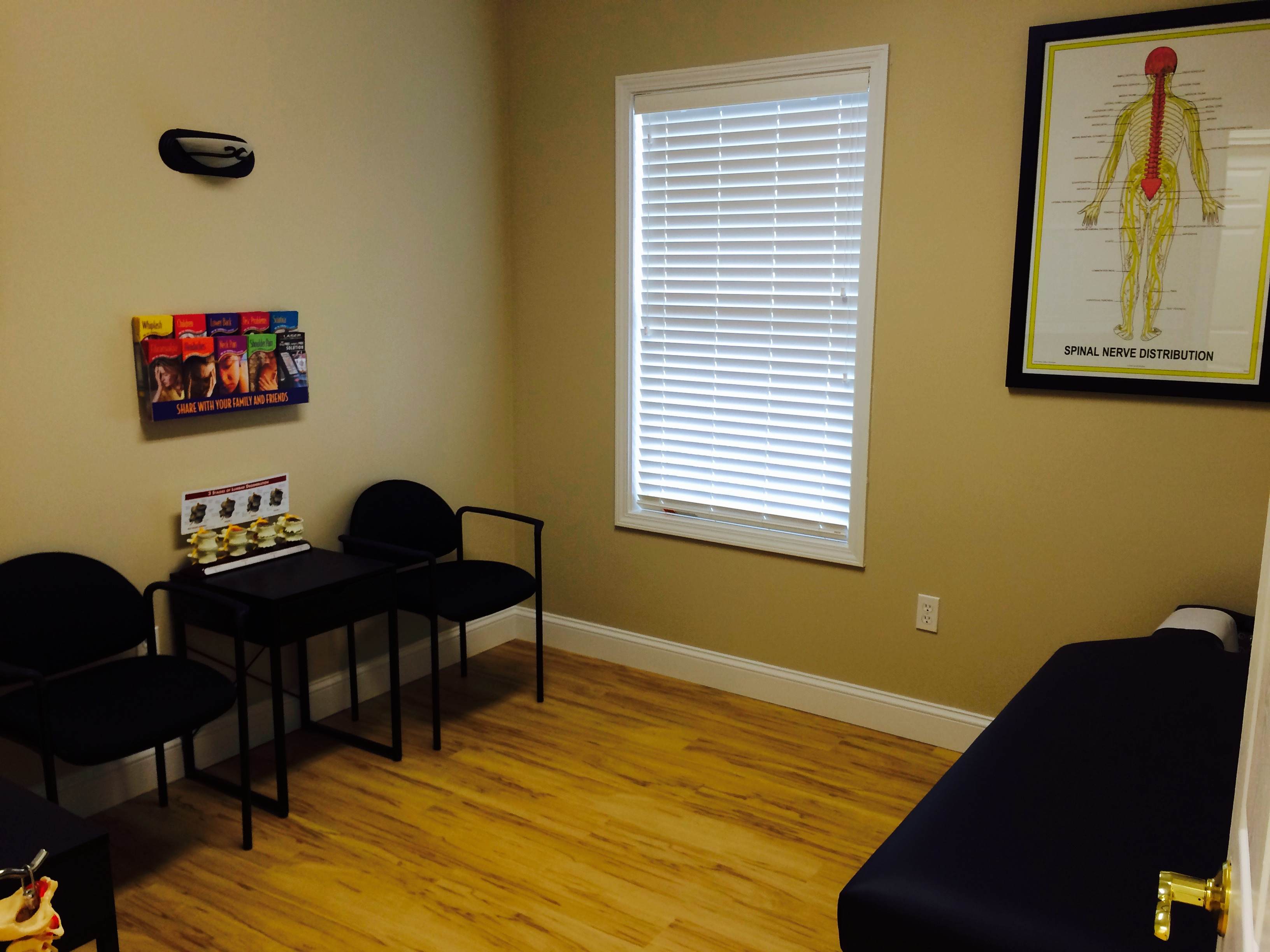 Core Physical Medicine Private Exam Room
